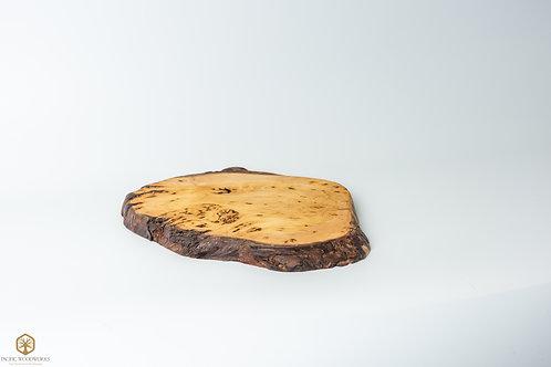 Yellow Cedar Burl Charcuterie Board