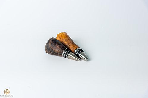 Exotic Wood Bottle Stopper