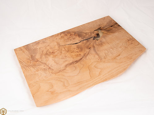 Western Maple Burl Charcuterie Board