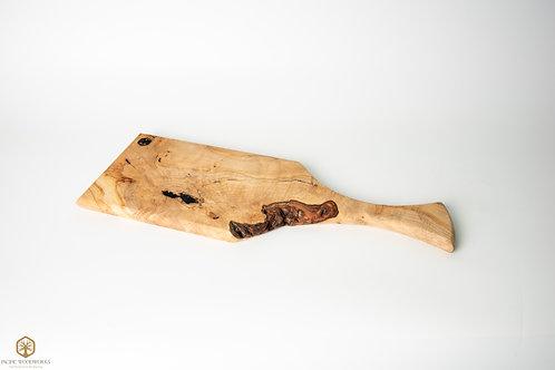Figured Silver Maple Charcuterie Board