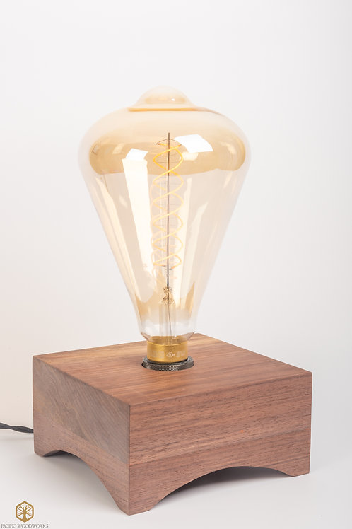 Walnut Edison Lamp