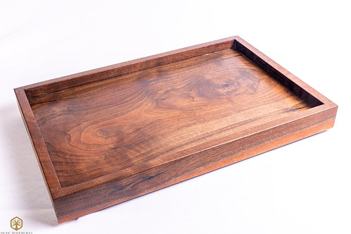 Square Black Walnut Charcuterie Board