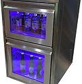 2 Laden Kühltheke mit Umluftkühlung Beleuchtung