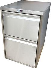2 Laden Kühltheke mit Umluftkühlung
