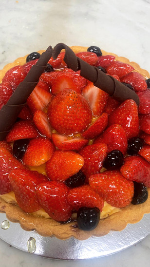 Strawberry Tart $5/portion