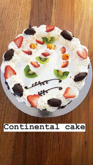 Continental Cake  $5/portion