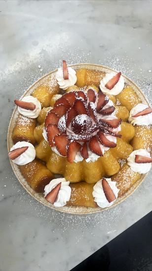 Babá cake $5/portion