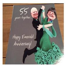 Rhoda & Pat's Wedding Anniversary