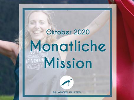 Oktober 2020 Mission: Entscheide dich für das Glück