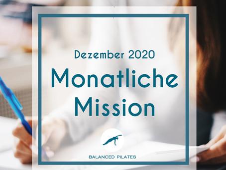 Dezember 2020 Mission: Ziele