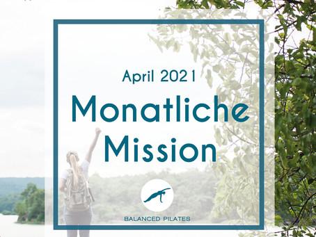April Mission 2021: Die Magie passiert außerhalb deiner Komfortzone