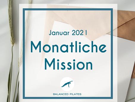 Januar Mission 2021: Mein Jahr