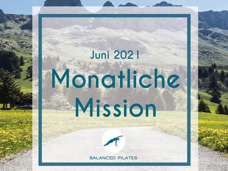Juni Mission 2021: Zielsetzung