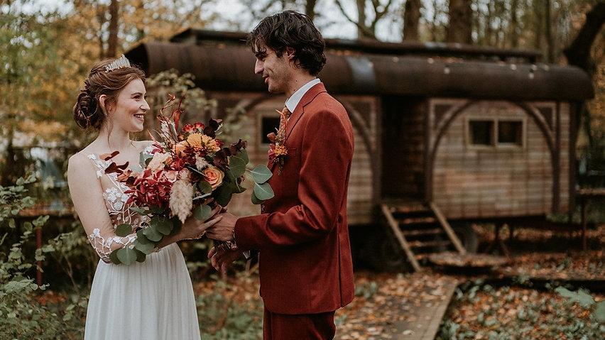 Couronne bohème pour mariage bohème