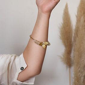 Bracelet en pierres naturelle pour mariée