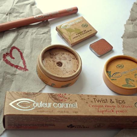 Couleur Caramel, à la découverte du maquillage bio + CONCOURS