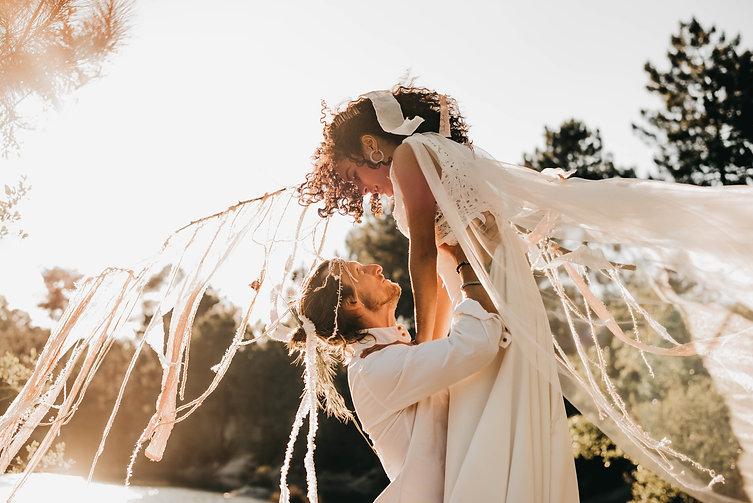 Accessoires et créations bohèmes mariage