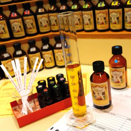 Visite de la parfumerie Galimard