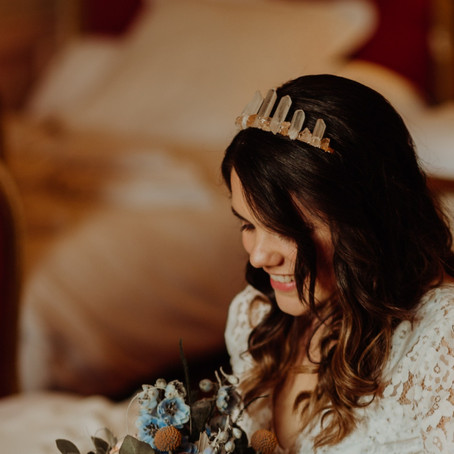 Un mariage dans le Rhône avec notre couronne Eléonore