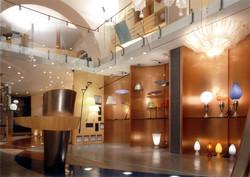 "Light showroom ""S. Giacomo"""
