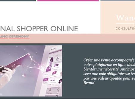 "Programme de Formation "" Personal Shopper Online: la Web Selling Ceremony"""