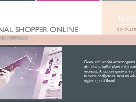 """Il Programma di Formazione """"Personal Shopper Online: la Web Selling Ceremony"""""""