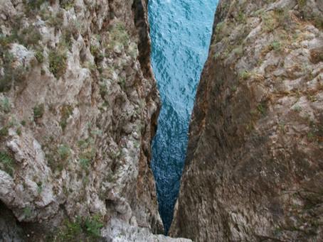 Il cambiamento.1 La montagna Spaccata, Gaeta