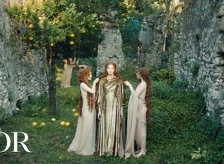 Il Mito Dior veste Ninfa