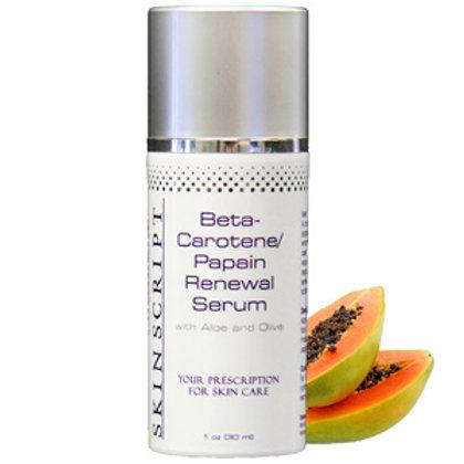 Beta-Carotene/Papain Renewal Serum