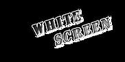 מסך לבן