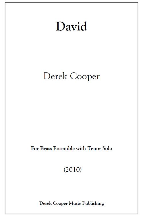 David - Score & Parts (Hard Copy)