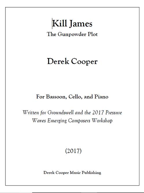 Kill James - Score & Parts (PDF)