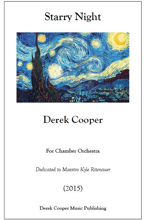 Starry Night - Score & Parts (Hard Copy)