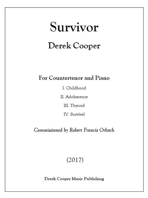 Survivor - Score (PDF)