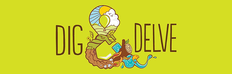 Dig and Delve Logo Outdoor Learning Providers Forest School Gardening Holiday Club Bath