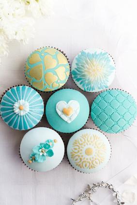 Cupcakes Herzen