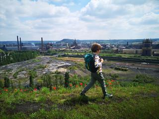 Kids-Dagtocht: Terrils in Charleroi (12,3 km)
