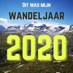 Wandeljaar 2020: een terugblik in cijfers en foto's