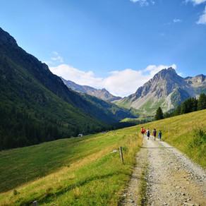 GR5 Traversée des Alpes - Dag 8 - Les Contamines-Montjoie > Gîte de Plan-Mya