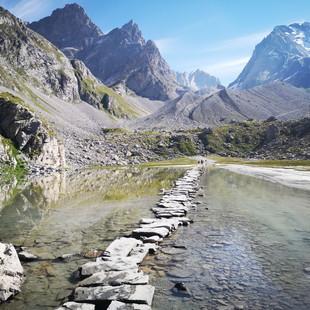 Tour des Glaciers de la Vanoise - Dag 4 - Pralognan > Refuge de l'Arpont