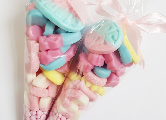 Vegan Sweet Cones - Pinks
