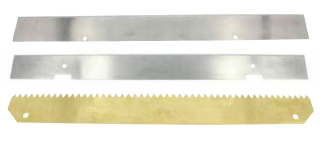 Cross Cut Off Blades