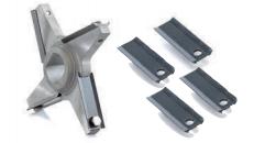 Knife Holder 4 arm for screw in insert blades