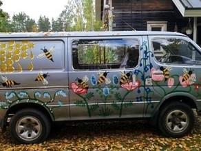 Hunajamobiililla liikenteeseen!