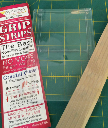 Acrylic block with Grip Strips