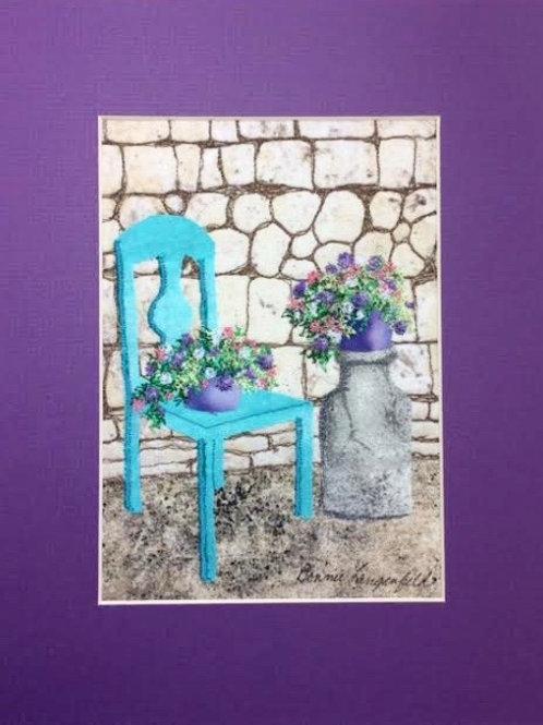 Bonnie's Blue Chair Pattern