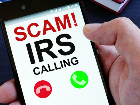 Beware of IRS Scams
