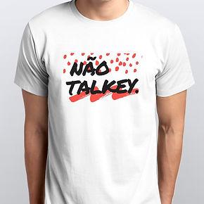 Camiseta Não Talkey Masculina