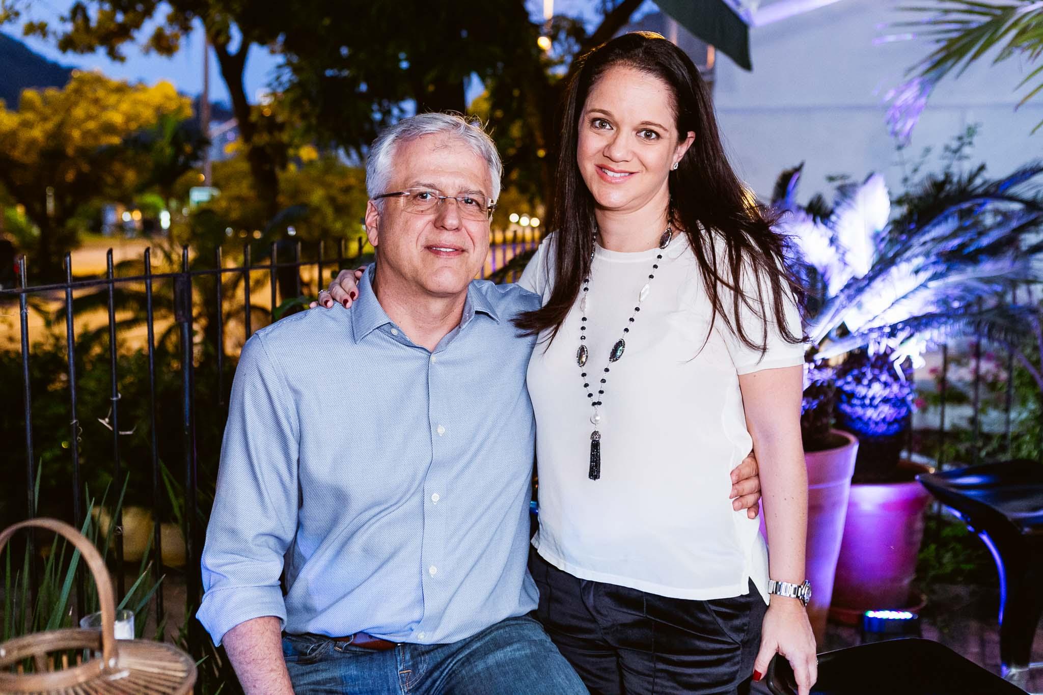 Jose Lage e Andrea Lage