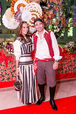Joana Nolasco e Andre Freitas
